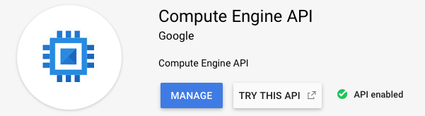 Engine API enabled