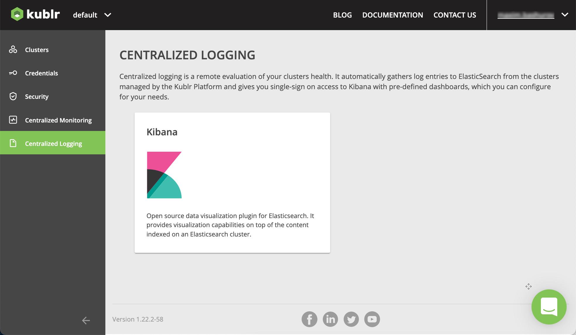 Logging :: Kublr Documentation